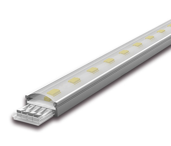 LED Power-Stick T - Powerful small plug-in LED Stick without dark zones de Hera | Luminaires montées en surface