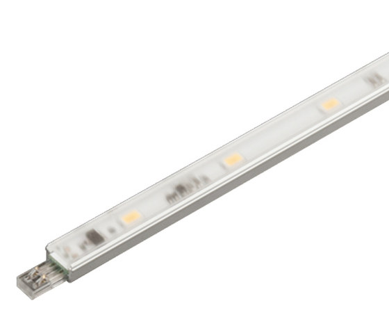 LED Power-Stick S - Powerful small plug-in LED Stick without dark zones de Hera | Luminaires montées en surface