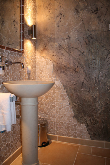Bathroom de Stucco Pompeji | Enduits