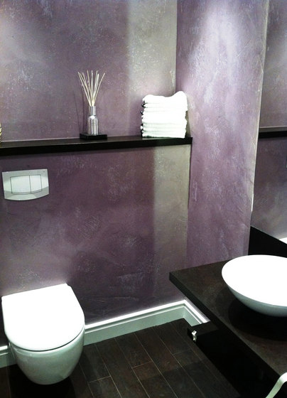 Bathroom by Stucco Pompeji | Wall coatings