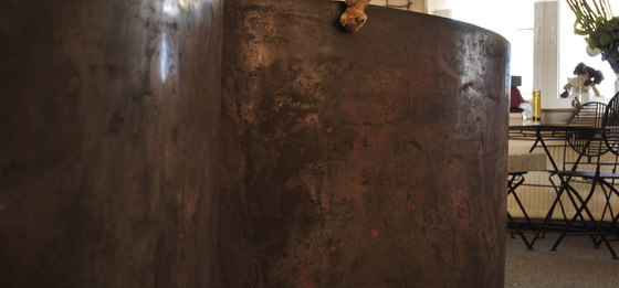 Effetto glassa di Stucco Pompeji | Intonaci