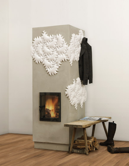 Hot Milky Star by POLI Keramik | Wood burning stoves