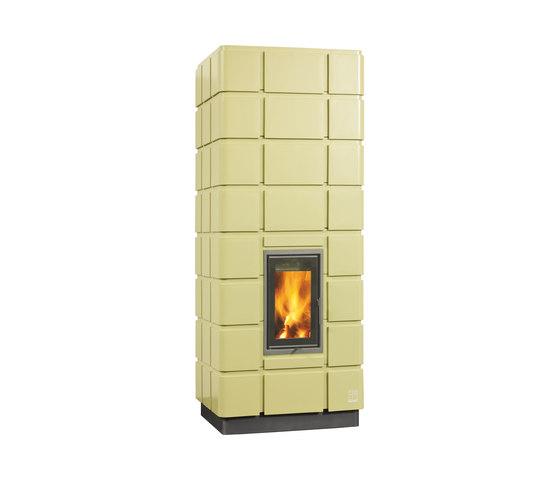 Polinea 02 by POLI Keramik | Wood burning stoves