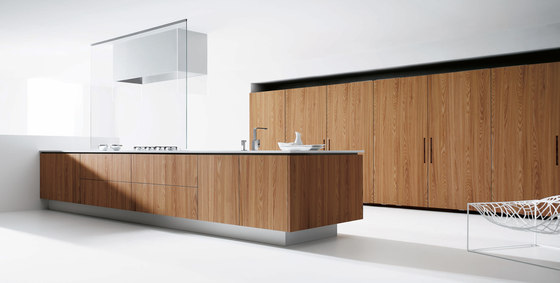 Barna vert xamer ent natural fitted kitchens from doca for Puristische kuche