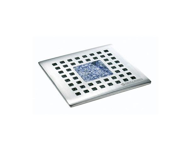 Quadra Stone Azul Bahia 145r10 by DALLMER | Plate drains
