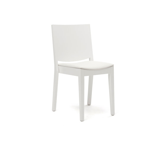C.D. Medium white by Inno | Visitors chairs / Side chairs