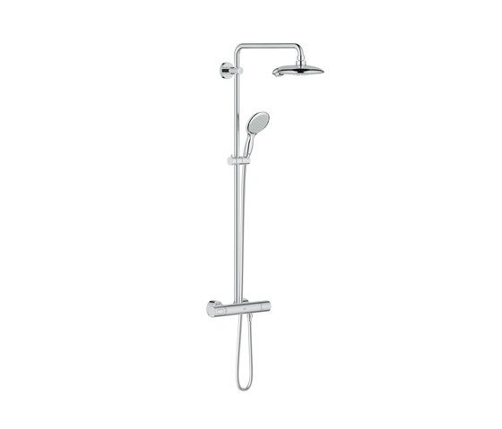 Power & Soul Shower system with thermostat for wall mounting de GROHE | Grifería para duchas
