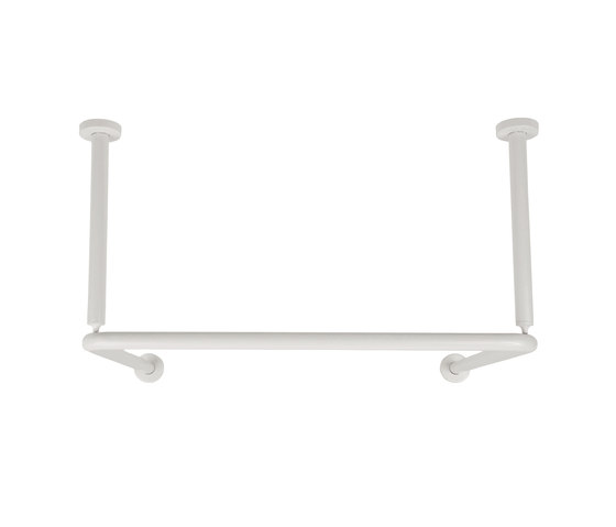 Shower curtain rod | middle of room by Nordholm | Shower curtain rails
