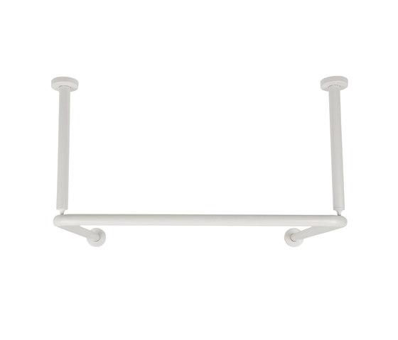 Shower curtain rod | middle of room di Nordholm | Bastone per tenda doccia