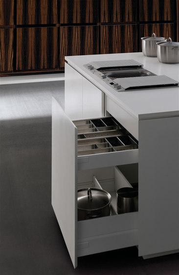 Ebano vintage sedamat blanco by DOCA | Fitted kitchens