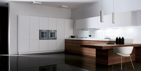 Cusan nogal sedamat blanco by DOCA | Fitted kitchens