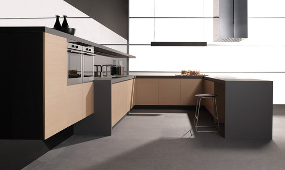 Parma roble microblock by DOCA | Fitted kitchens