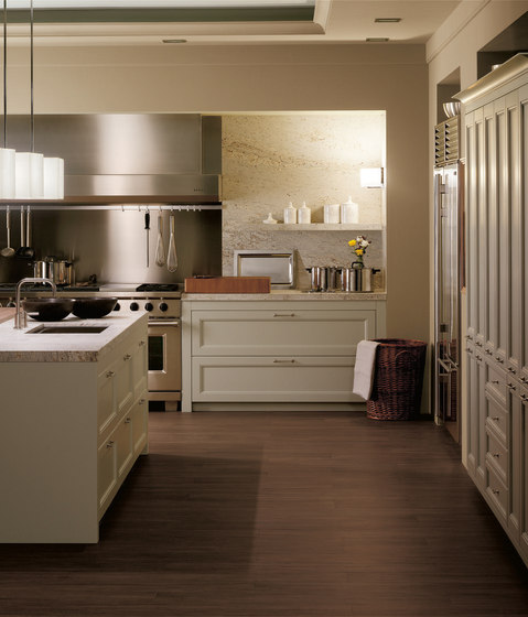 Biarritz gris lavanda by DOCA | Fitted kitchens