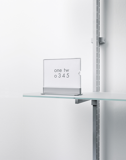 Label de Shopfitting systems by Vitra | Stands d'exposition