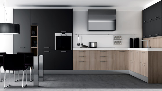 2000 nogal gris by DOCA   Fitted kitchens