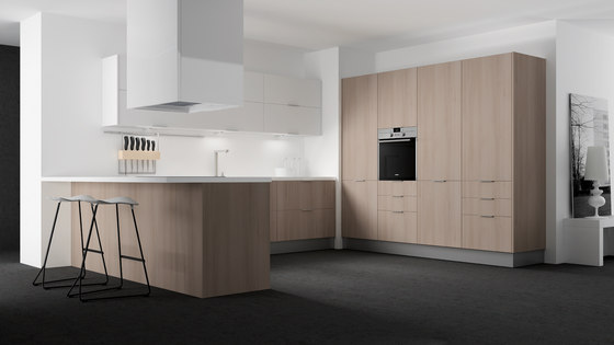 2000 blanco nogal by DOCA | Fitted kitchens