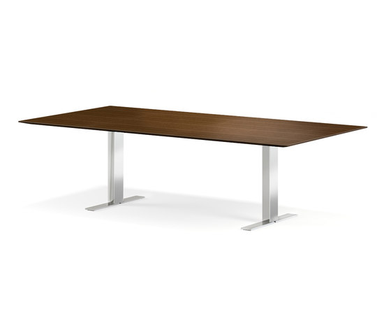 Exec-V table by Walter Knoll   Individual desks