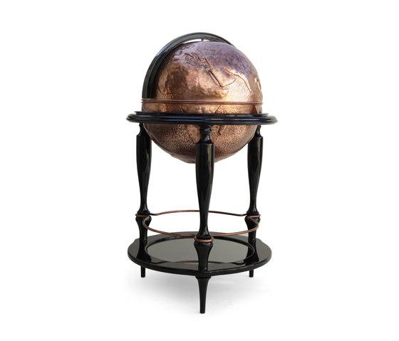 Equator globe bar by Boca do lobo | Trolleys