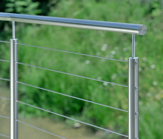 I-SYS| Balustrade infill de Carl Stahl ARC | Cables de acero inoxidable