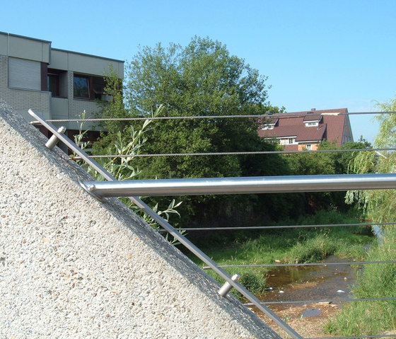 I-SYS| Balustrade infill by Carl Stahl | Railings / Balustrades