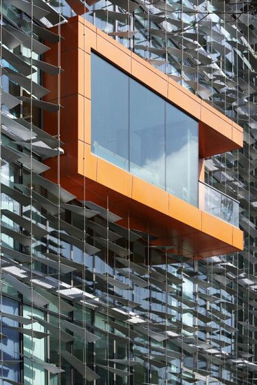 I-SYS | Facade decoration di Carl Stahl ARC | Facade constructions