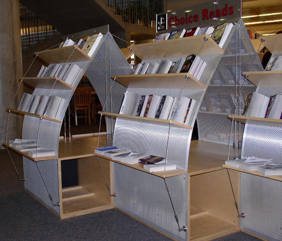 I-SYS | Shelving systems by Carl Stahl ARC | Library shelving systems
