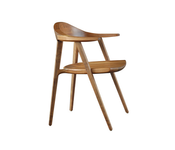 Mantis Side Chair by BassamFellows | Restaurant chairs