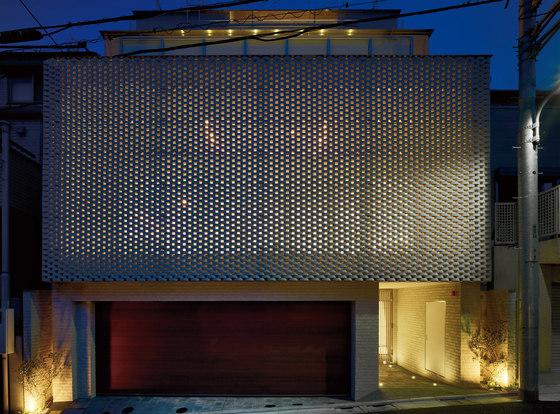 Ceramic screen in-situ by Kenzan | Facade design