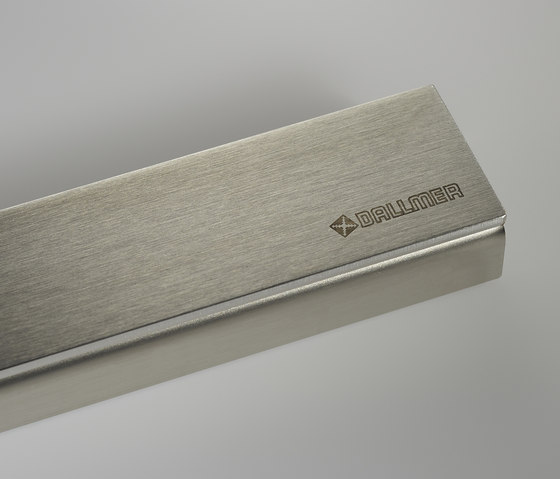CeraLine brushed finish by DALLMER | Linear drains
