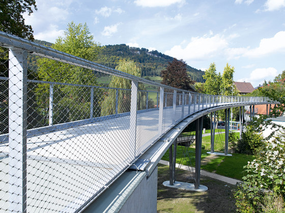 X-TEND | Railing infill for bridges by Carl Stahl | Metal weaves / meshs