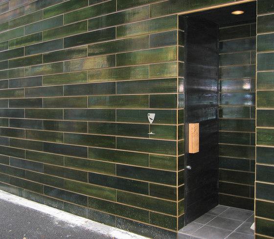 Wall oribe in-situ by Kenzan | Ceramic tiles