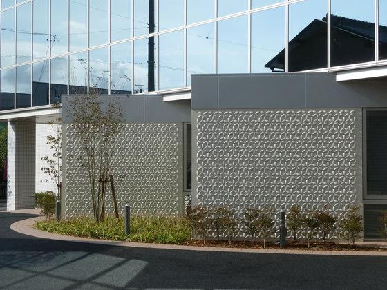 Flower circle in-situ by Kenzan | Facade design