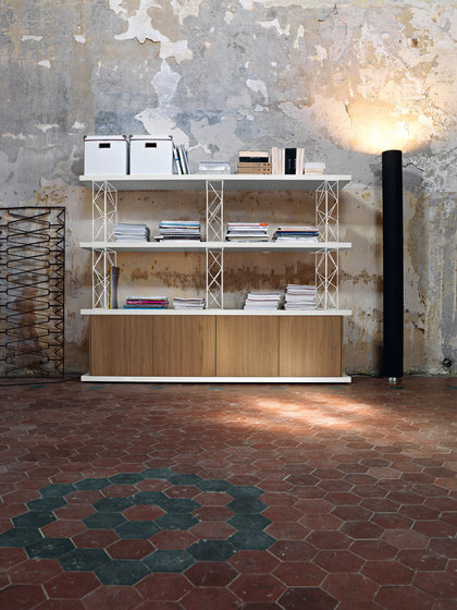 Wire by Sinetica Industries | Office shelving systems