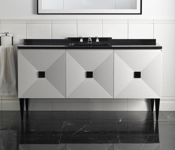Jetset Vanity Unit by Devon&Devon | Wash basins