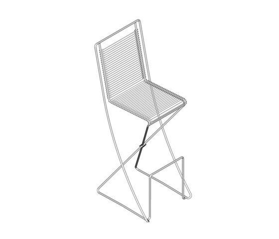 KSL 0.1 Bar Chair by Till Behrens Systeme | Bar stools