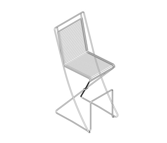 KSL 0.2 Kitchen Chair de Till Behrens Systeme | Chaises de bar