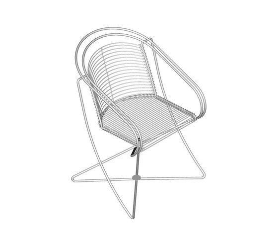 KSL 2.1 Round chair by Till Behrens Systeme | Restaurant chairs
