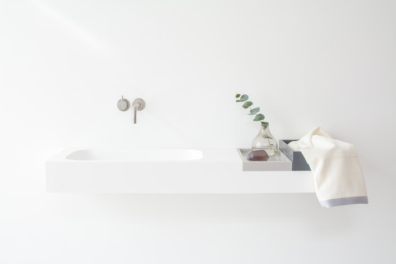 Box basin by Not Only White B.V. | Wash basins