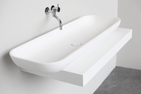 Box Countertop basin de Not Only White B.V. | Lavabos