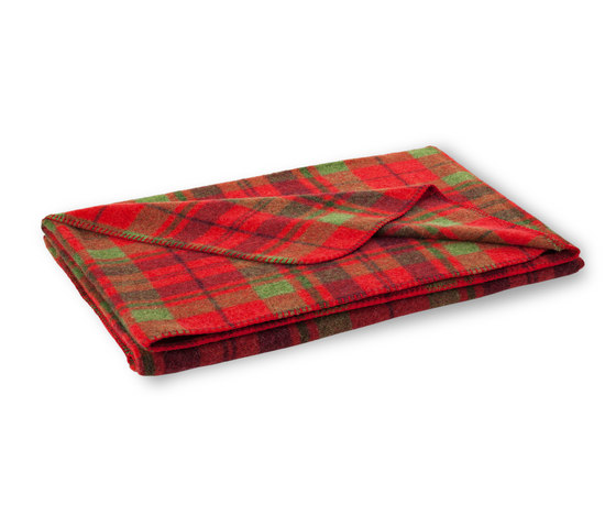 Mia blanket cherry by Steiner | Plaids / Blankets