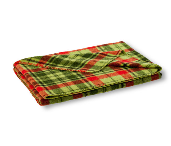 Mia blanket lime by Steiner | Plaids / Blankets