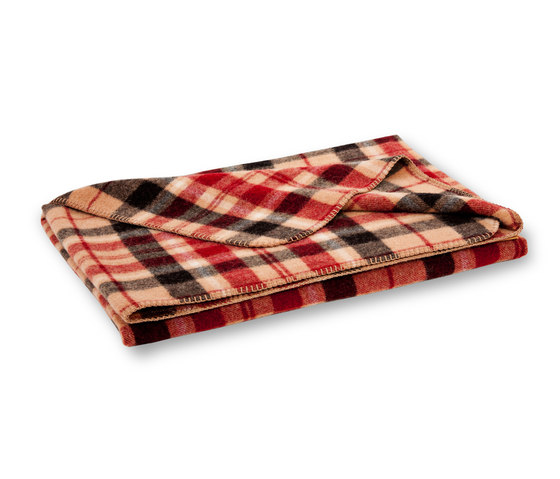 Mia blanket mocca by Steiner | Plaids / Blankets