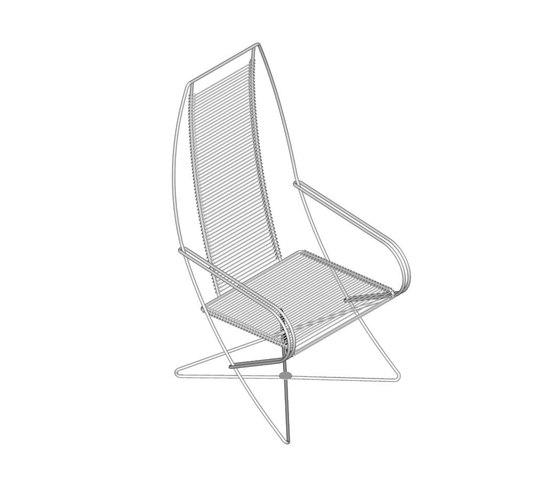 KSl 0.10 Longe Chair by Till Behrens Systeme | Garden armchairs