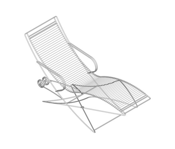 KSL 0.9 Hammock-chaise by Till Behrens Systeme | Sun loungers