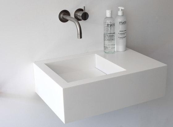 Kuub basin by Not Only White B.V. | Wash basins