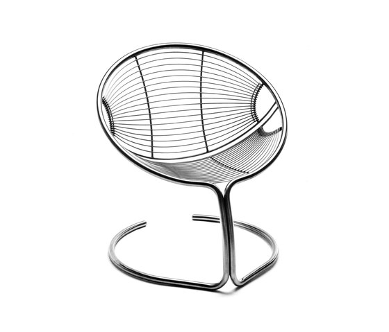 SC 7.1 Shell Chair by Till Behrens Systeme | Garden armchairs