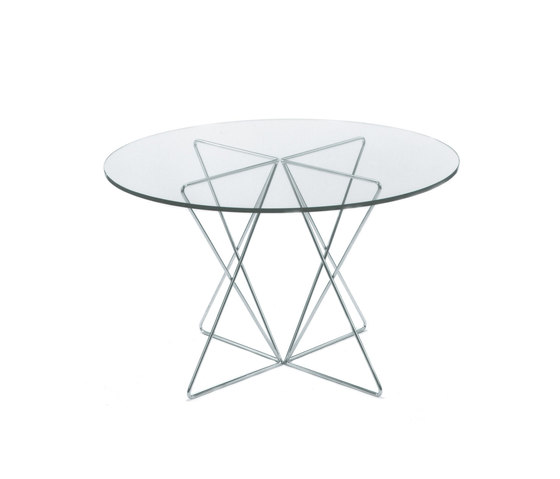 KSL 4.5 Triangular Table Racks high by Till Behrens Systeme | Trestles