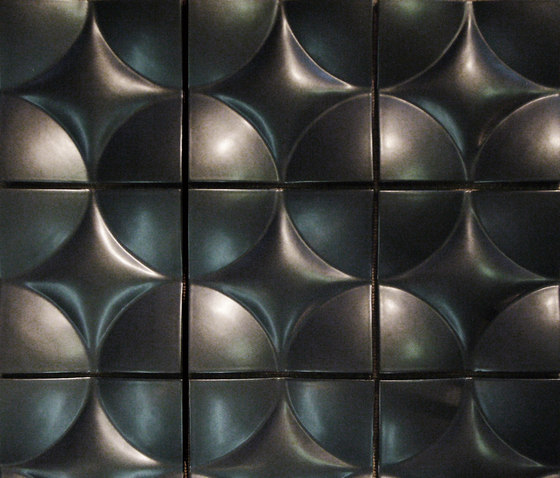 Round square model C by Kenzan | Wall tiles