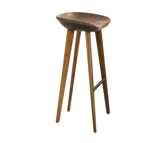 Tractor Bar Stool de BassamFellows | Taburetes de bar