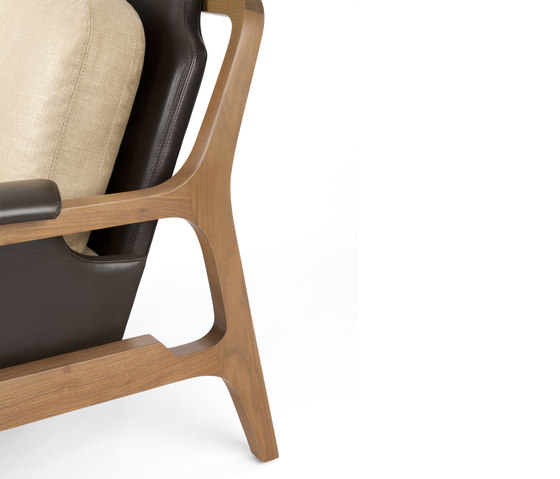 Fergus Lounge Chair von CASTE | Loungesessel